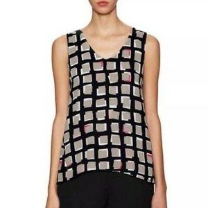 Kate Spade Abstract Sweets Sleeveless Top